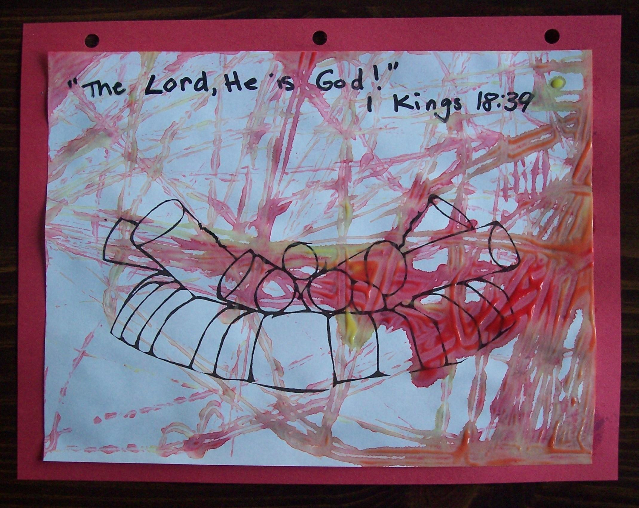 Preschool Bible Craft His Treasure Seekers Page 4