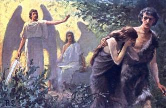 Resulta ng larawan para sa adam and eve disobey god